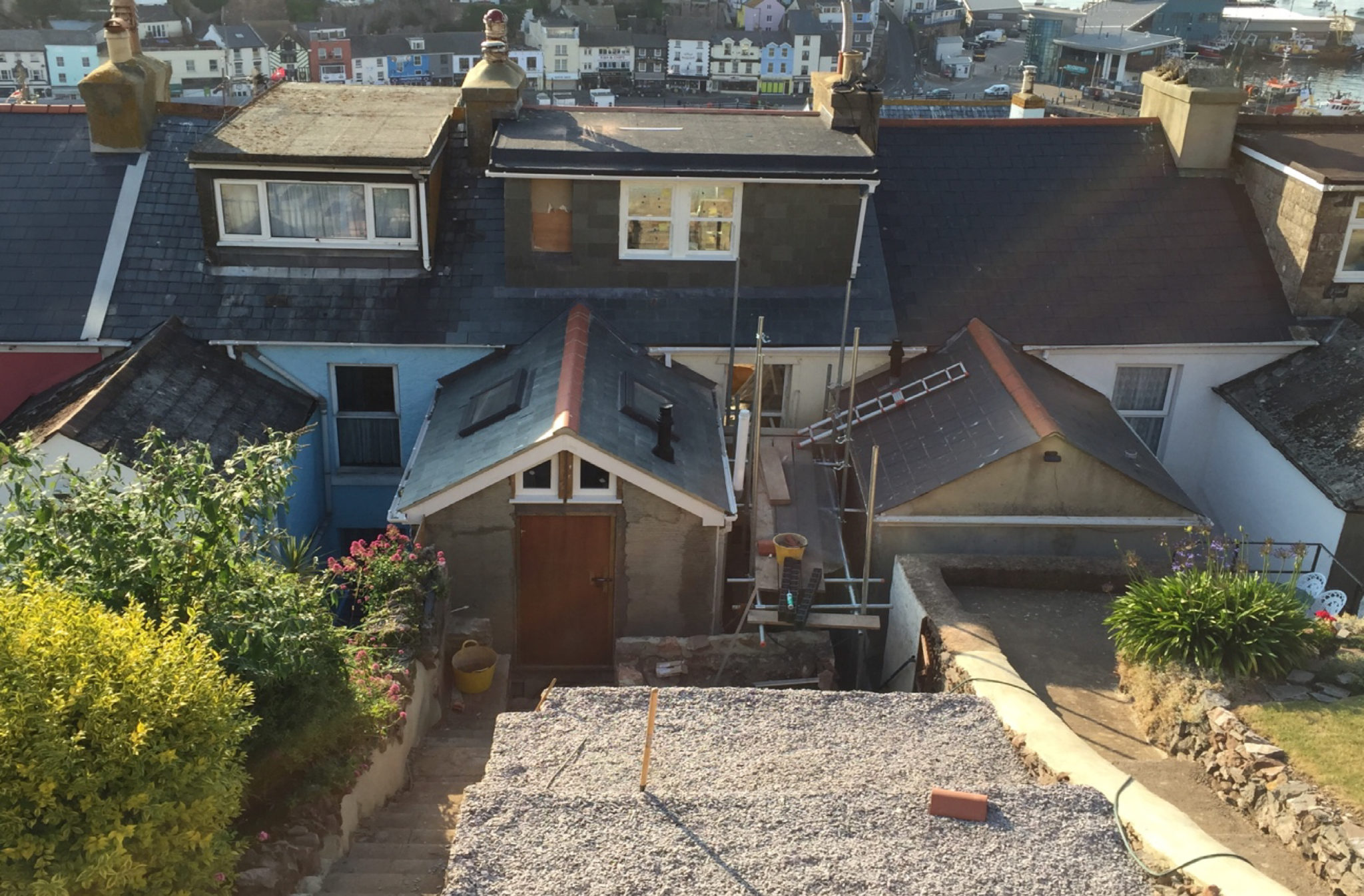 Appeal to retain a dormer window built not in compliance with the approved plans
