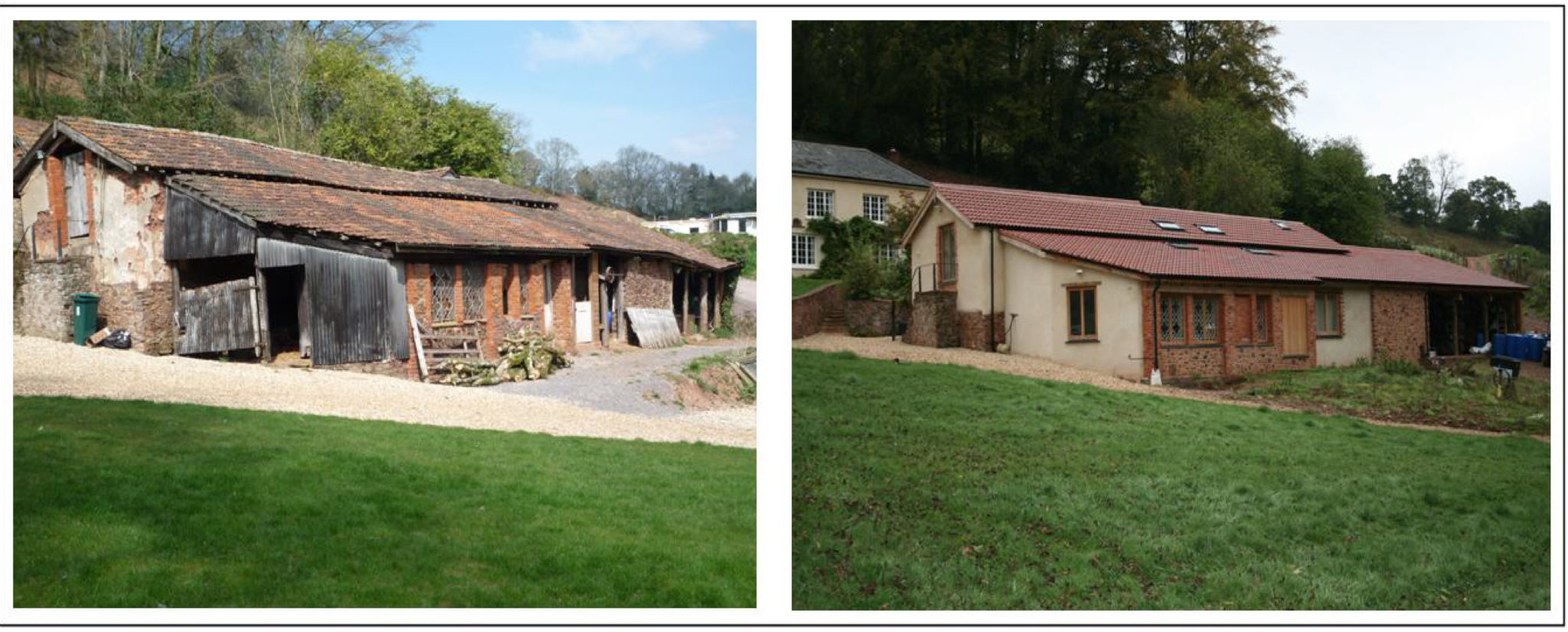 Planning and Listed Building appeals for the conversion of barns adjacent to a Listed Building.